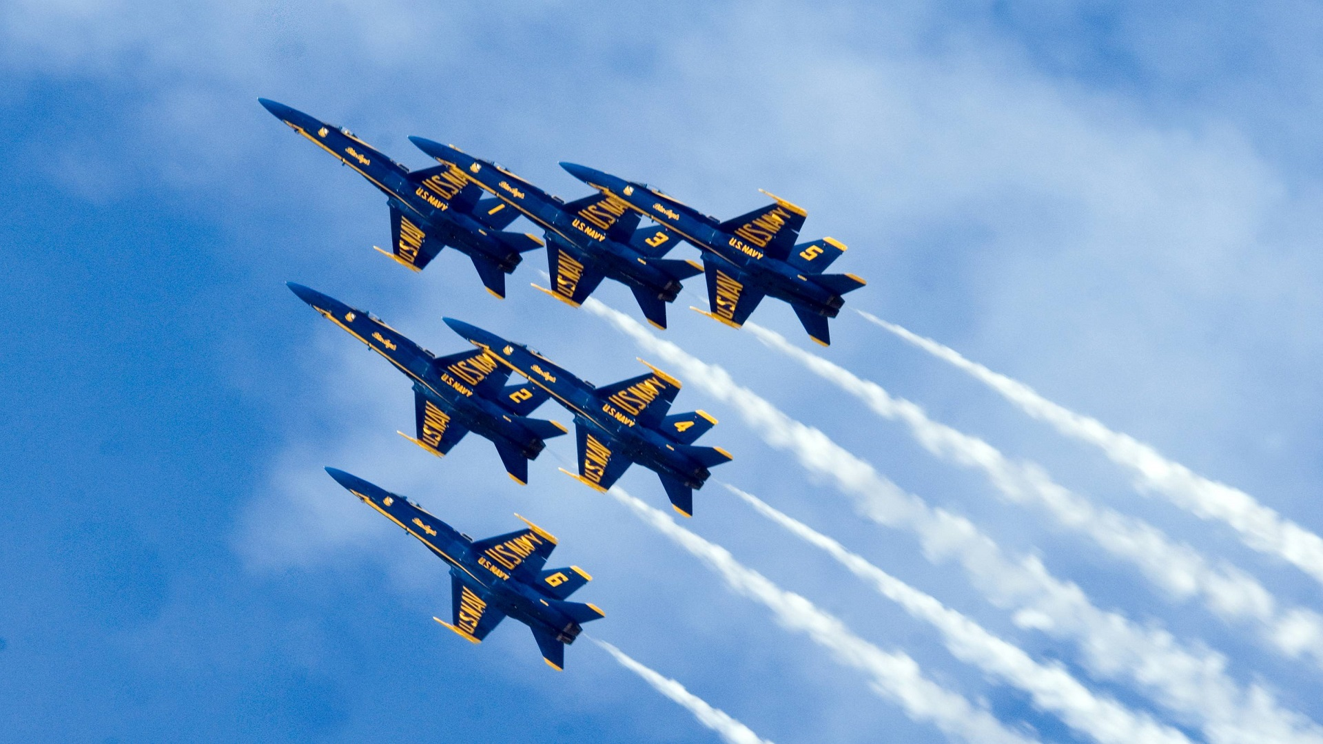You may even see the U.S. Navy Blue Angels flying overhead.